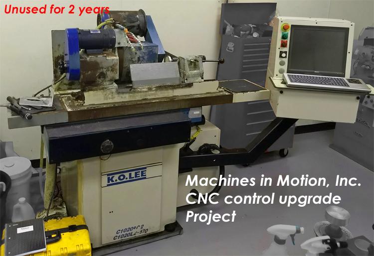 K.O.Lee CNC grinder Retrofit