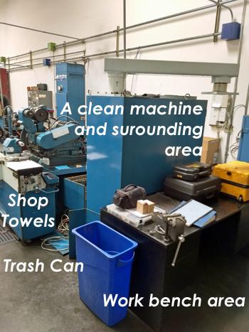 CNC retrofits work area
