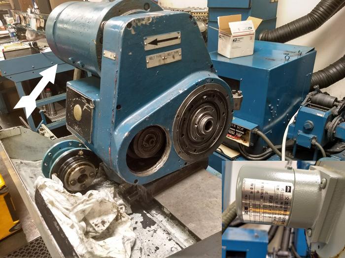Part Rotation motor