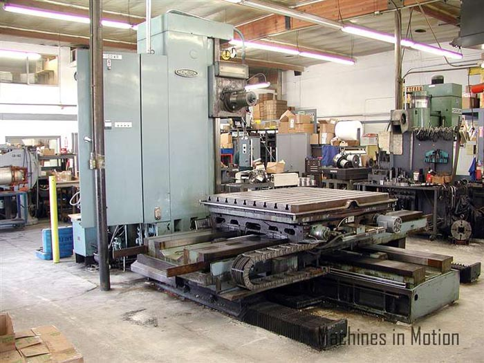 Horizontal Milling Machine Upgrade